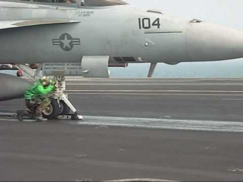 """ Danger Zone "" ABE's aboard the USS Ronald Reagan"