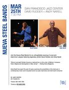 David Rudder & Andy Narell at the SF Jazz center