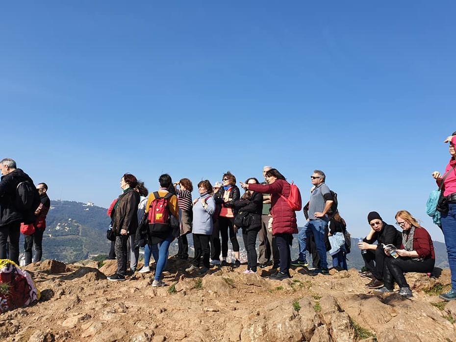 CAMINATA - Ruta dels tres Turons: El Turó de la Rovira - El Carmel - El Parc Güell - 09/02/2020