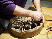 Fabrication de tambour chamanique
