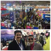 Sandeep Marwah Special Invitee at OTM Travel Show