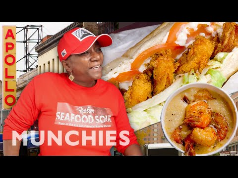 The Seafood Queen of Harlem - Street Food Icons