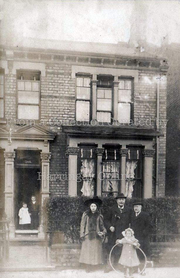 305 Wightman Road c1905