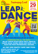 LEAP Dance Fest for all the family: 29th February