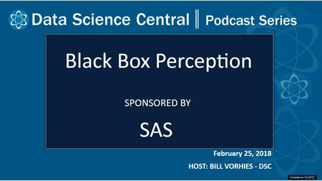 DSC Podcast Series: Black Box Perception