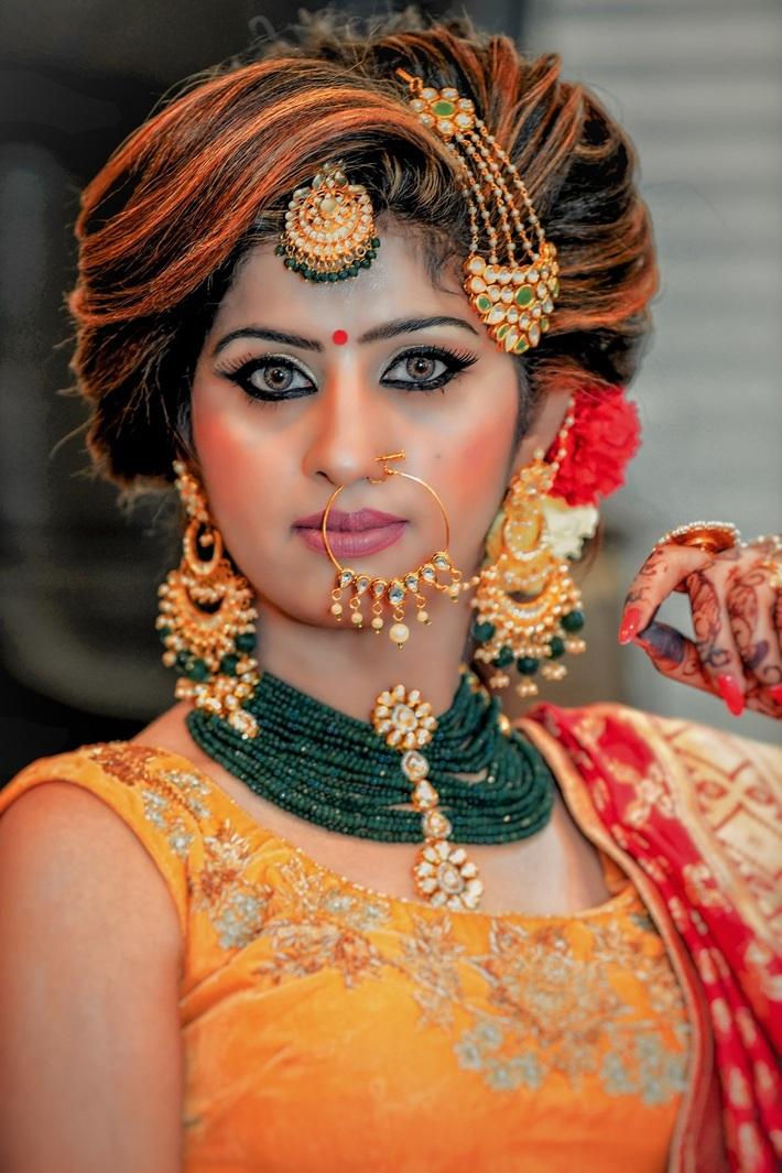 Engagement Makeup for Bride - HD Makeover