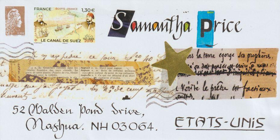 sent to Samantha Price