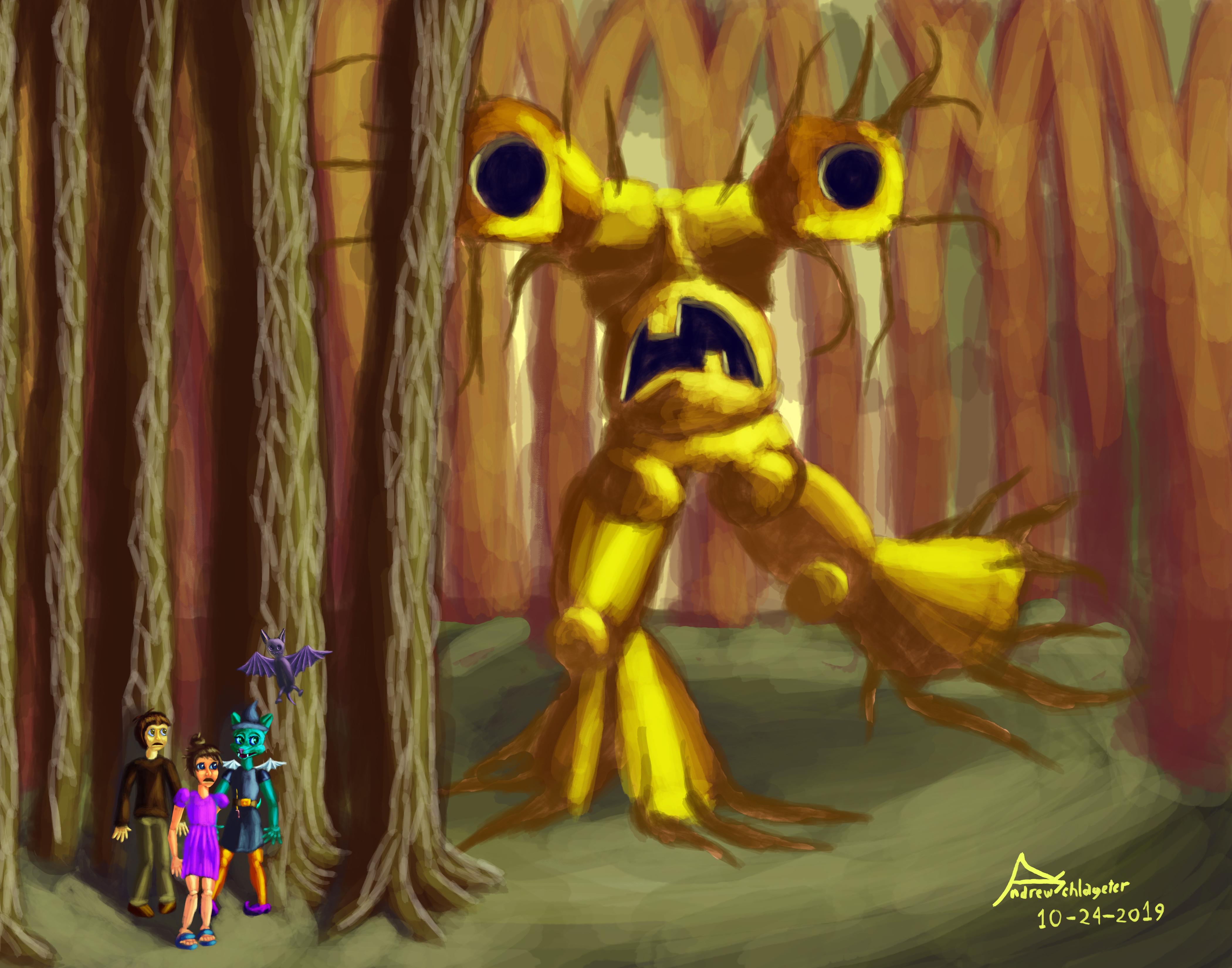 tree monster