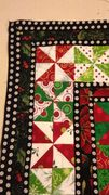 """first set of borders for  """"Fox in the Christmas Hen House"""""""