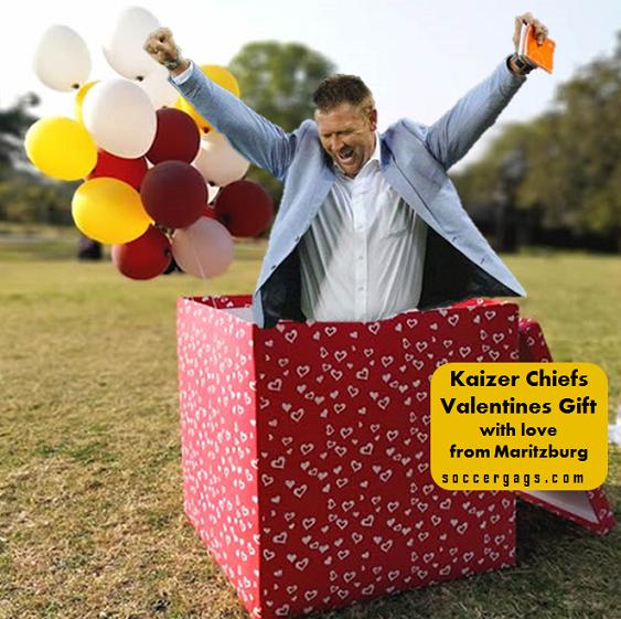 Kaizer Chiefs Valentines Gift