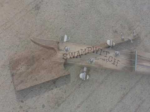 Swamp witch guitar high desert