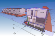 BIM model terrasdorp