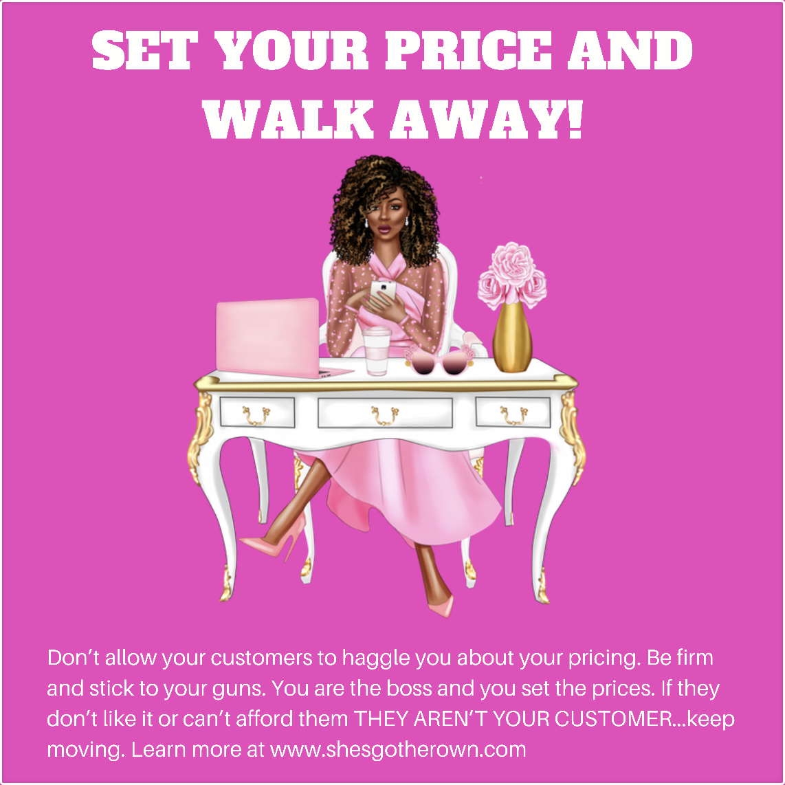 Set Your Prices And Walk Away...