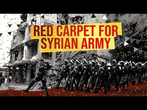 Idlib City Is Preparing Ticker Tape Parade For Assad