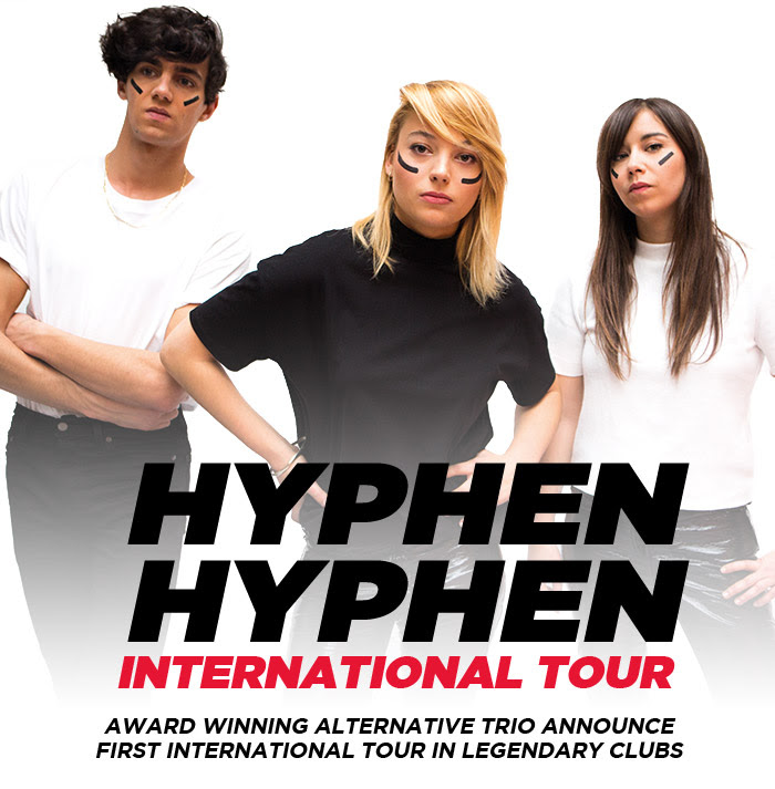 Award-winning French Band HYPHEN HYPHEN on tour in May!