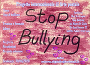 Mail Art project STOP BULLYING
