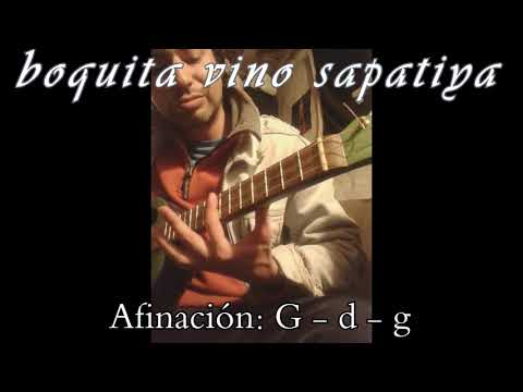 The Peronist March on CBG guitar