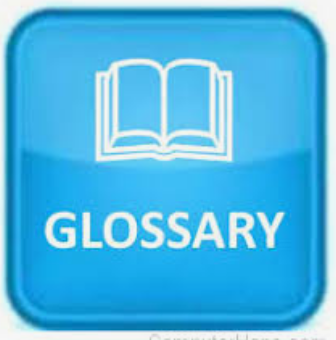 Glossary of terms and acronyms