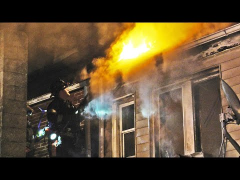 Firefighters battle 3-alarm house fire in Allentown, Pennsylvania
