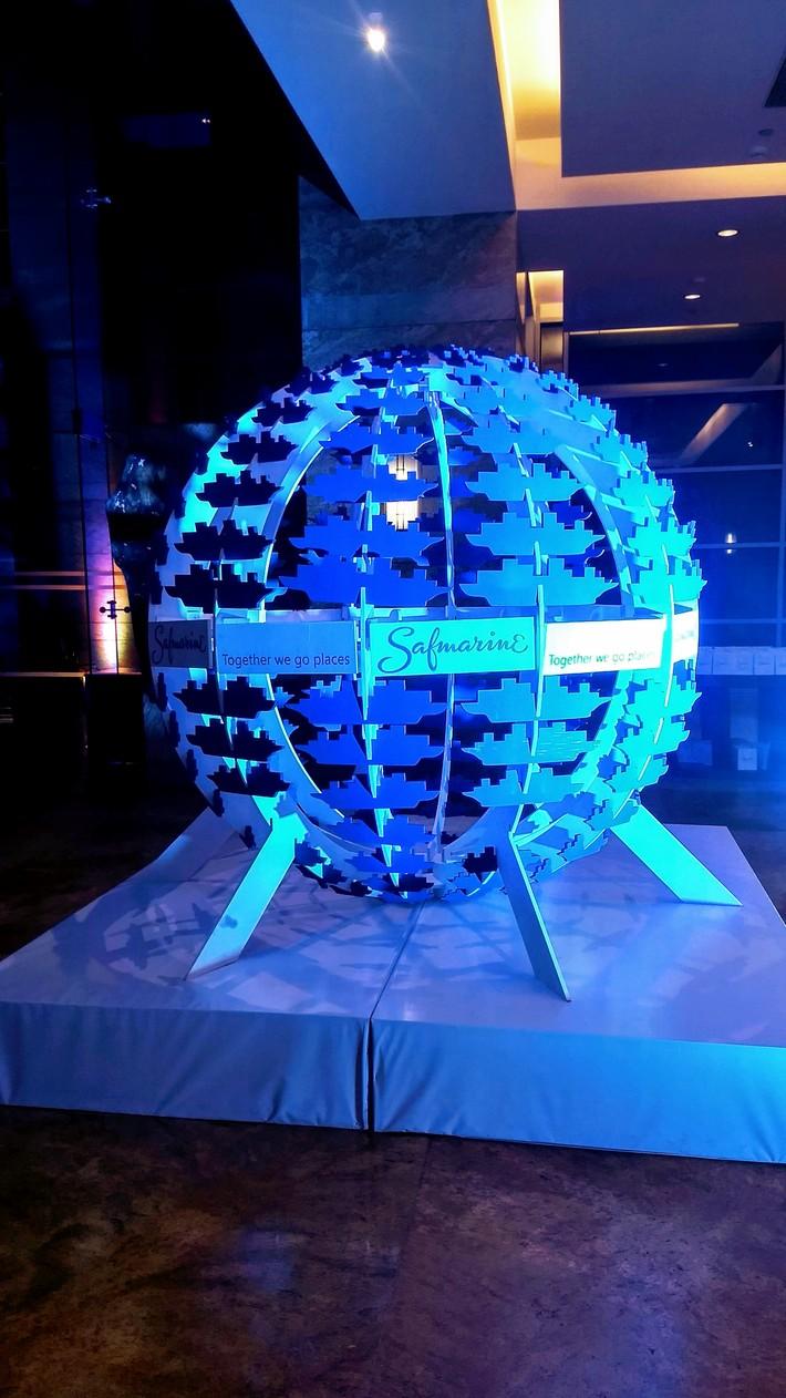 Safmarine - Event Installation