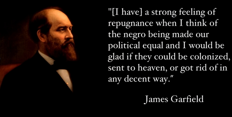 James Garfield US President 20