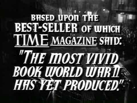 Trinidad All Stars -- THE CROSS OF LORRAINE [1944 TRAILER]