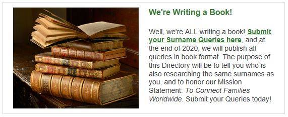 Surname Queries Book