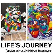 """นิทรรศการศิลปะ """"LIFE'S JOURNEY"""""""