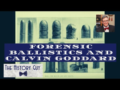 Dr Calvin Goddard and the St. Valentine's Day Massacre
