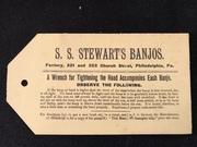 S.S.Stewarts Banjos wrench TAG
