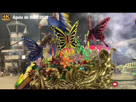 Águia de Ouro 2020 - Desfile Oficial - 4K
