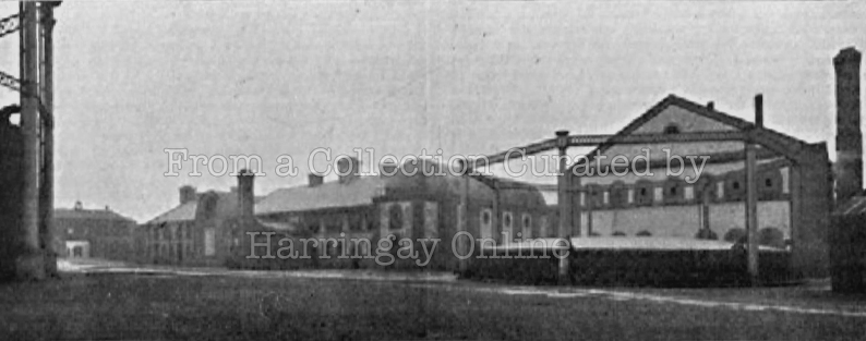 Hornsey Gas Works, 1910