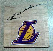 Likely not Genuine: Kobe Bryant Mamba Los Angeles Lakers Signed Floor Piece Autograph Auto COA $400