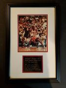 """Likely not Genuine: Michael Jordan """"faded"""" Signed Autographed 8x10 with Kobe $299.99"""