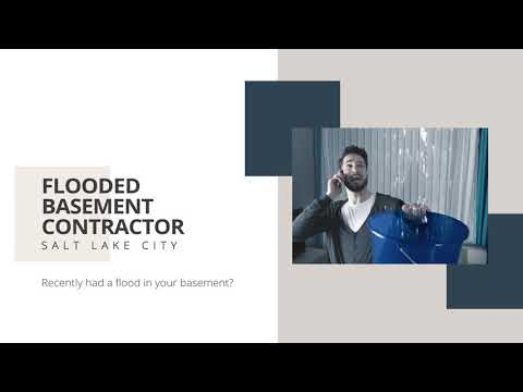 Contractor for Flooded Basement in Salt Lake City
