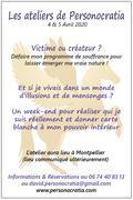 Atelier Personocratia (Conscience souveraine) à Montpellier