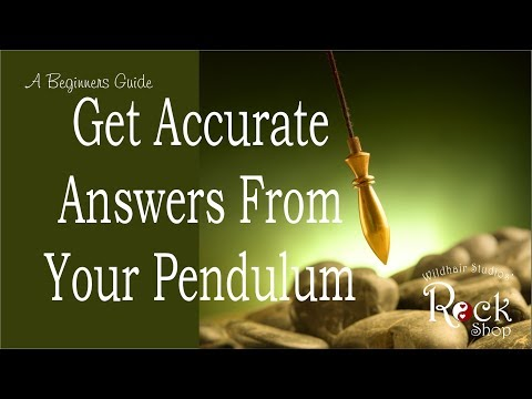 How to Use a Pendulum and Get Accurate Answers - A Beginners Guide to Dowsing