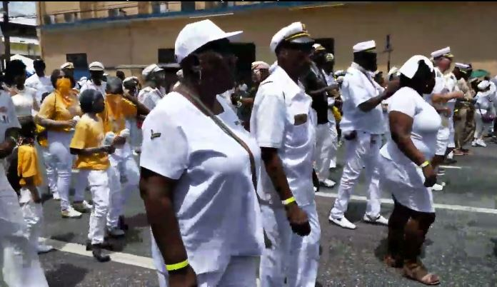 Trinidad All Strars Steel Orchestra on the Road - Caarnival 2020