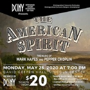 THE AMERICAN SPIRIT: THE MUSIC OF MARK HAYES AND PEPPER CHOPLIN