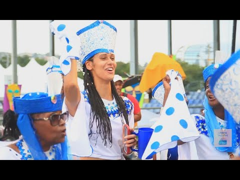 Trinidad All Stars Carnival Monday on the Road