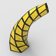 Twisting Fractal