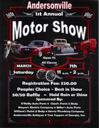 ANDERSONVILLE 1st ANNUAL MOTOR SHOW