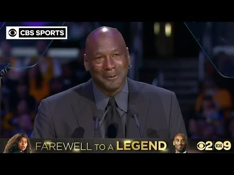 """When Kobe Bryant died, a piece of me died."" - Michael Jordan 