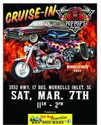 """CRUISE IN TO """"POP-POPS"""" PIT BBQ"""