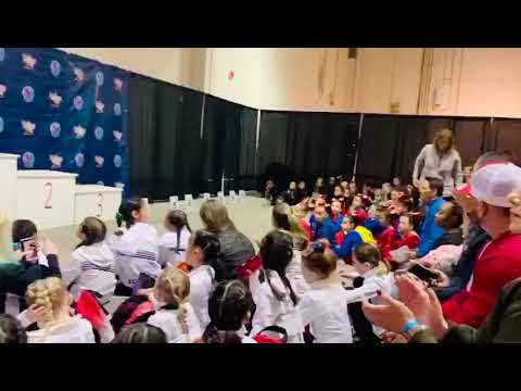 SIMONE BILES INVITATIONAL 2020 ALL AROUND 3ER LUGAR VICTORIA NIVEL 1
