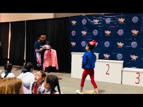 PREMIACIÓN SIMONE BILES INVITATIONAL 2020 ALL AROUND 1ER LUGAR ALIHA NIVEL 1