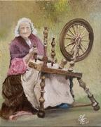 La vieille au Rouet