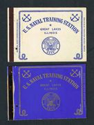 Matchbook Cover Great Lakes Naval Training Center