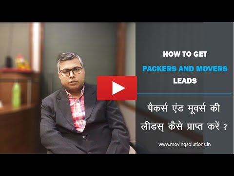 How to Get Packers and Movers Leads