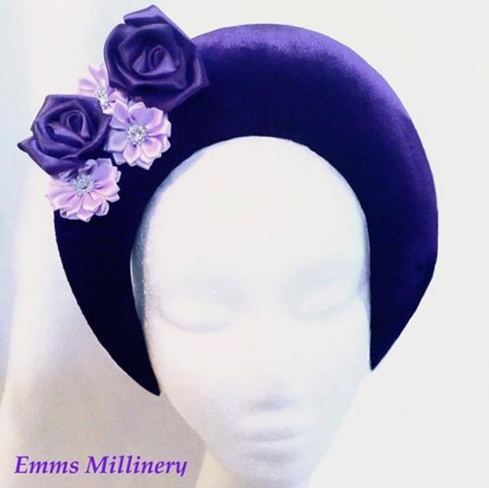 Purple Velvet Halo